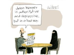Kenney Cartoon